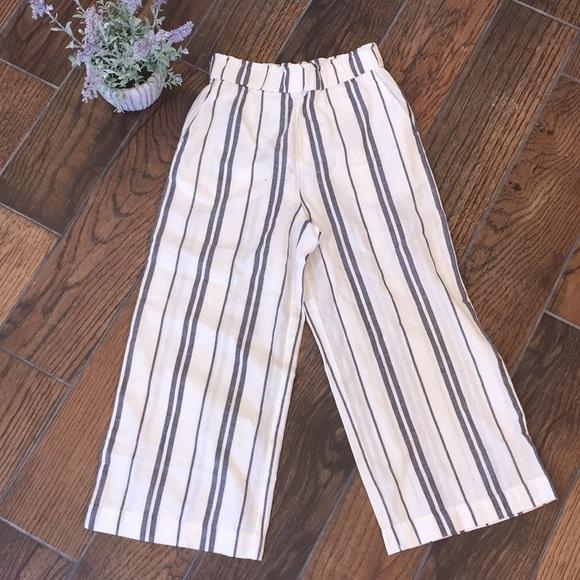 H&M Pants - H&M / Linen Wide Leg Pants